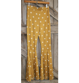APPAREL Mustard Star Bells