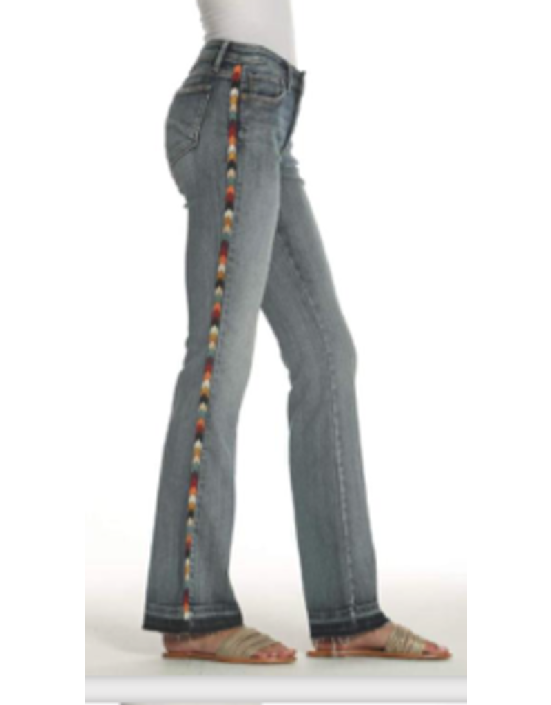 APPAREL ISABEL W/SERAPE SIDE TRIM FLARES