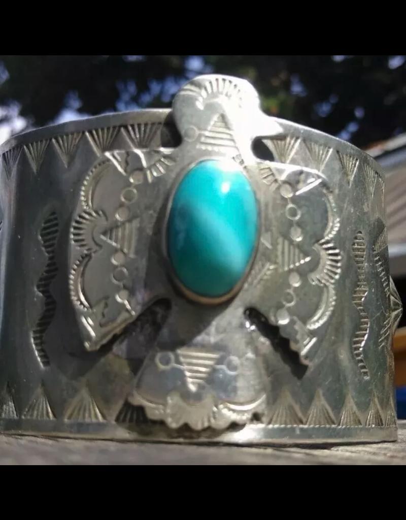 jewelry VINATEG FRED HARVEY THUNDERBIRD CUFF