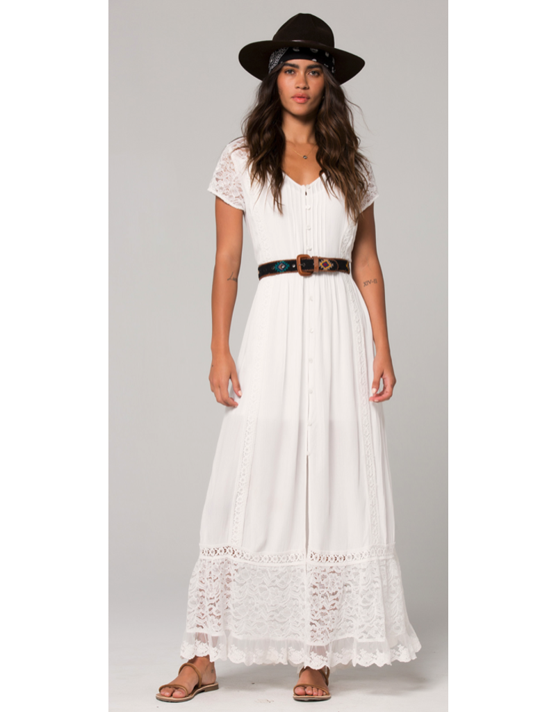 APPAREL BERMUDA BUTTON DOWN MAXI DRESS