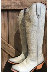 BOOT NUBOCK BABY BLUE TALL BOOTS