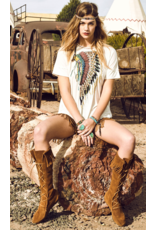 APPAREL Arizona Headdress Top