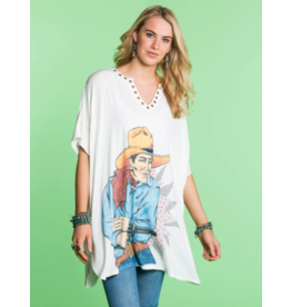 APPAREL COWBOY TASER TOP