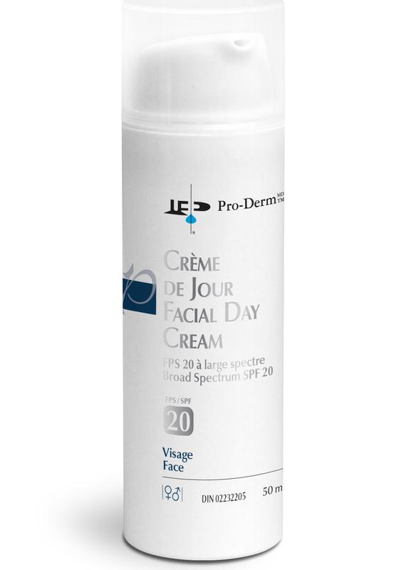 PRO-DERM Pro-Derm crème de jour Protection solaire à large spectre FPS 20