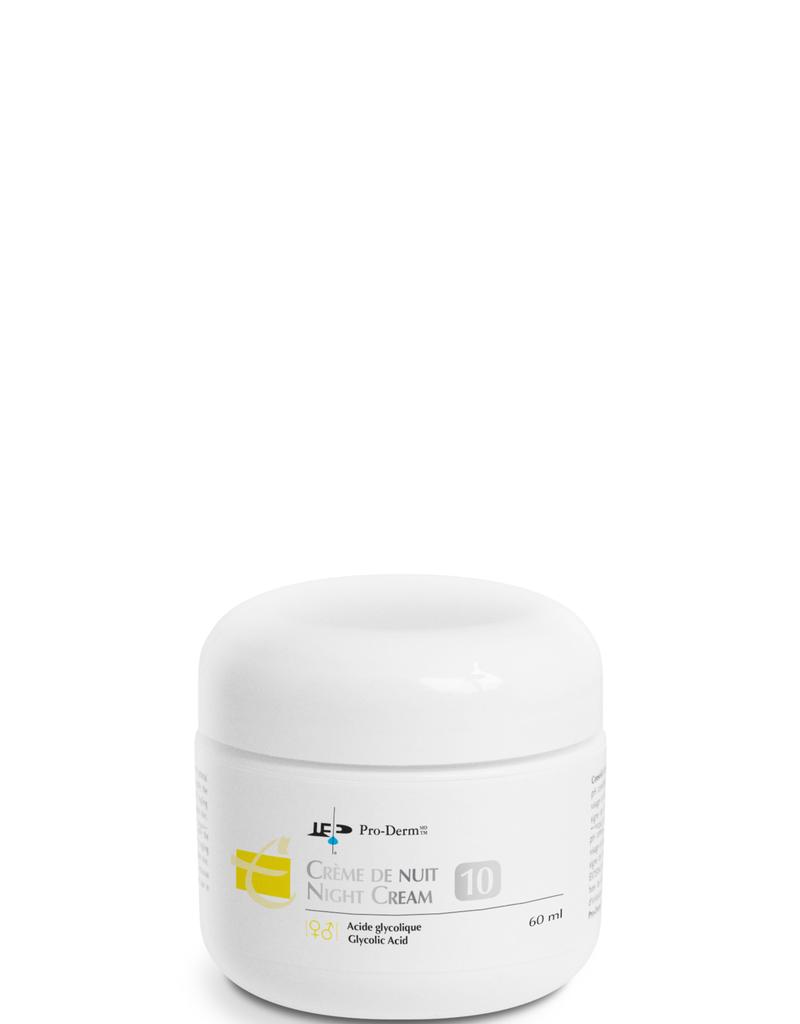 PRO-DERM Pro-Derm crème de nuit 10% AHA