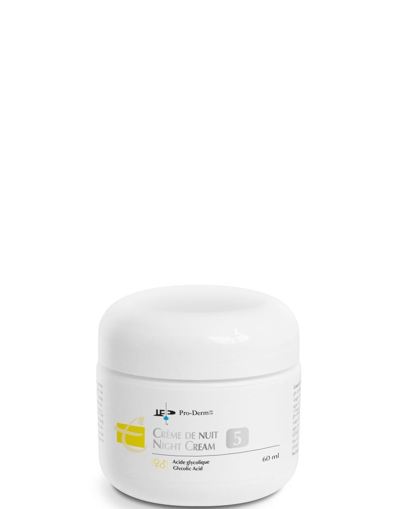PRO-DERM Pro-Derm crème de nuit 5% AHA