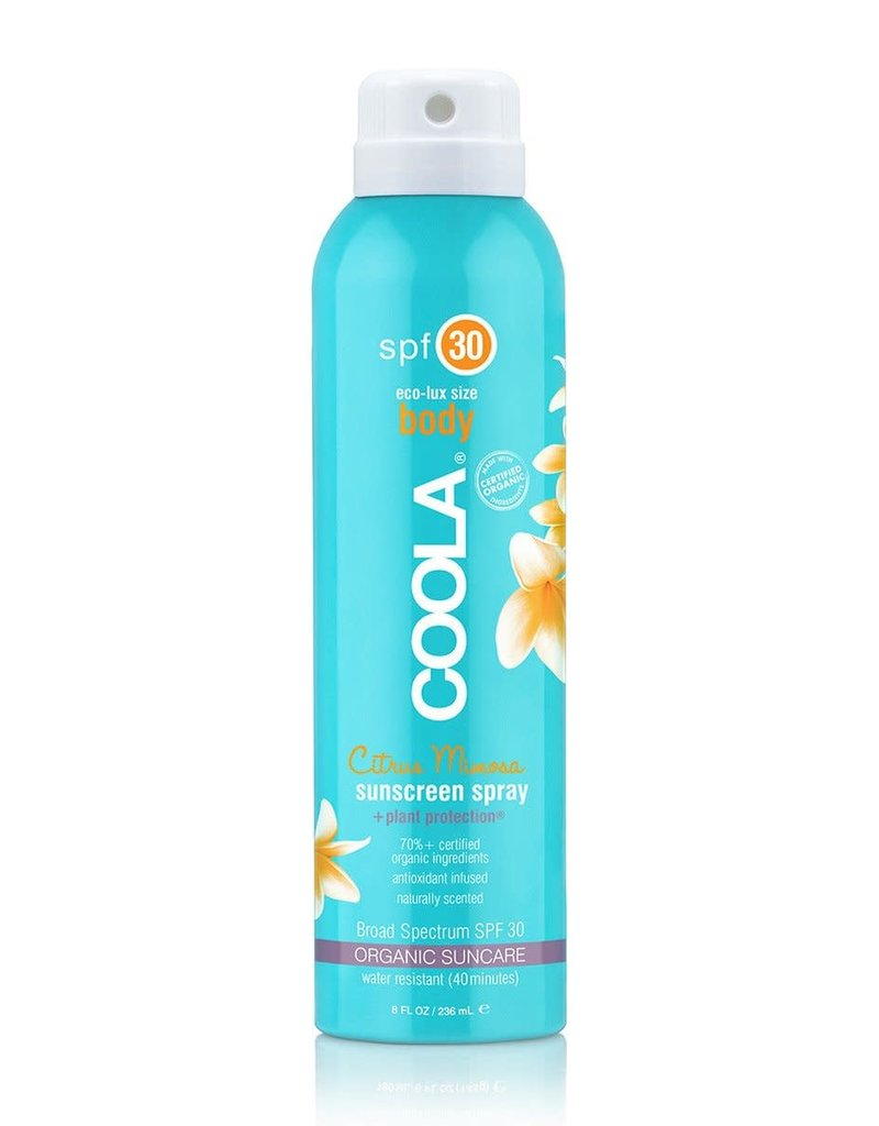 COOLA Coola écran solaire en atomiseur corps citrus mimosa FPS30