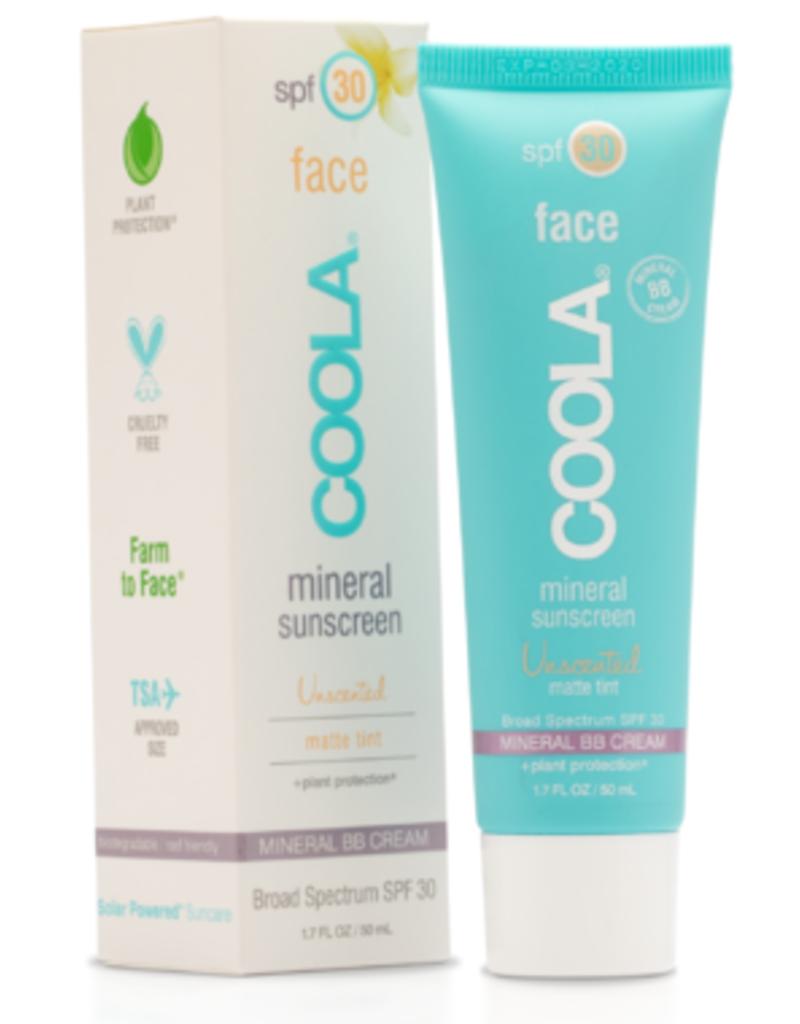 COOLA Coola BB écran solaire minéral crème matte FPS 30