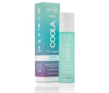 Coola pulvérisateur pour fixer le maquillage FPS 30