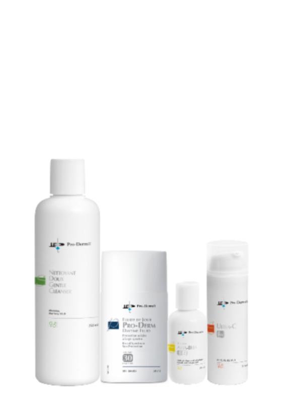 PRO-DERM Pro-Derm protocole pour les tâches pigmentaires - peau mixte à grasse