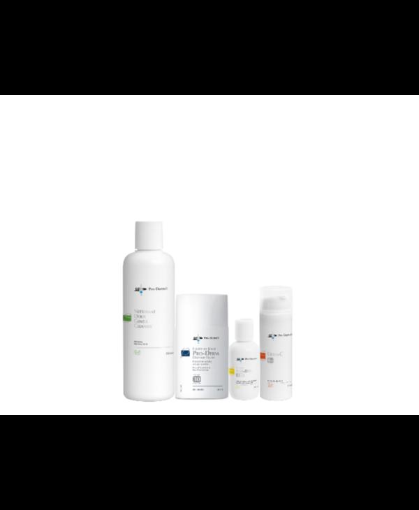 Pro-Derm protocole pour les tâches pigmentaires - peau mixte à grasse