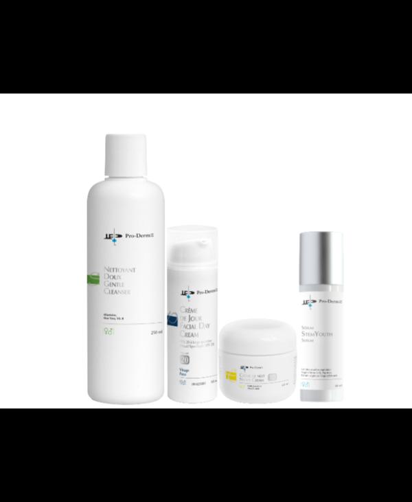 Pro-Derm protocole anti-âge pour peau sèche à normale