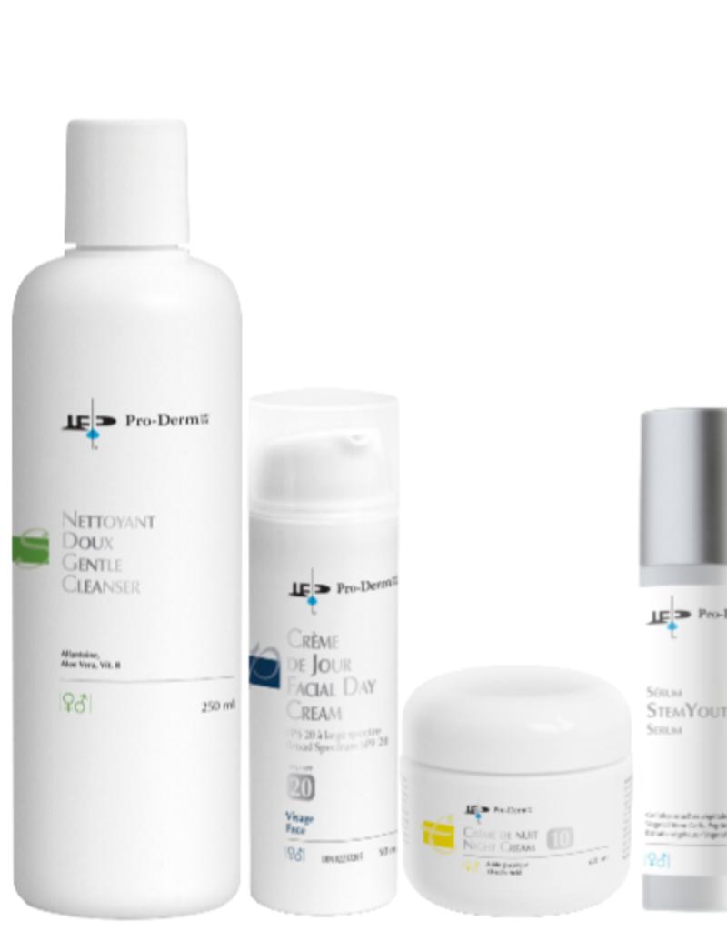 PRO-DERM Pro-Derm protocole anti-âge pour peau sèche à normale