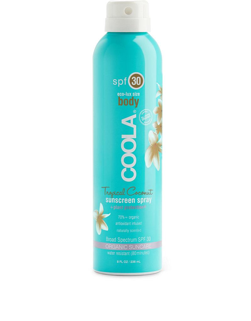 COOLA Coola écran solaire en atomiseur corps coconut tropicale  FPS 30