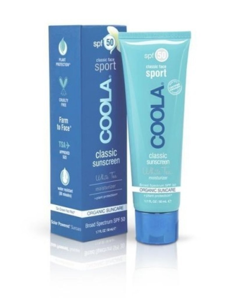 COOLA Coola Sport Thé Blanc écran solaire classique  FPS 50