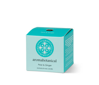 Aromabotanical  Mini bougie parfumée Poire/gingembre