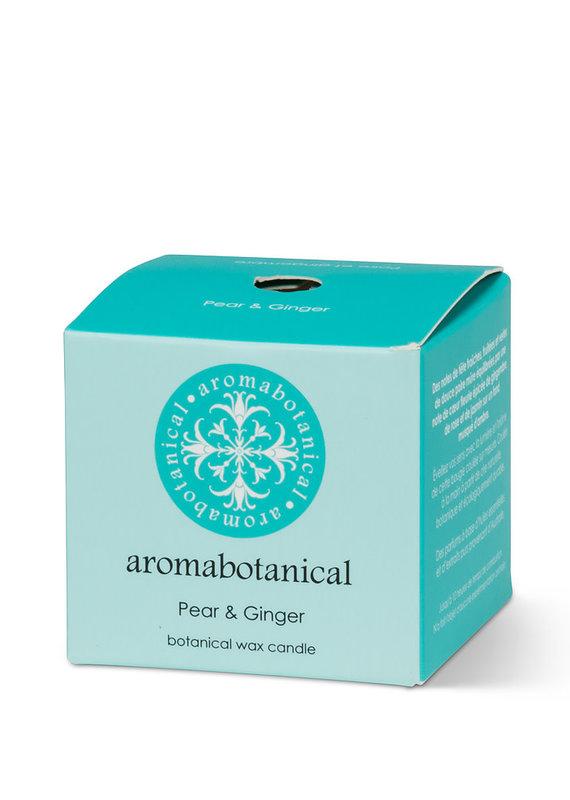Aromabotanical Aromabotanical  Mini bougie parfumée Poire/gingembre