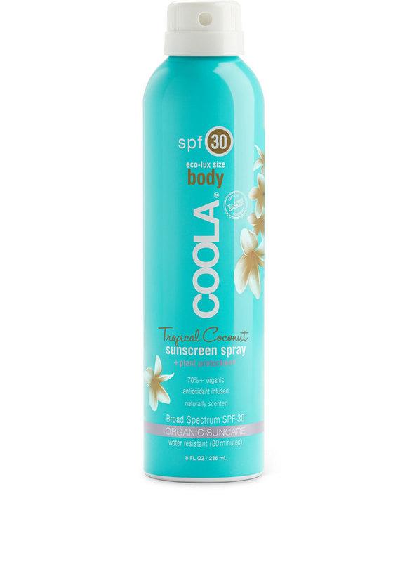 COOLA Coola écran solaire en atomiseur corps Coconut tropicale 6oz FPS 30