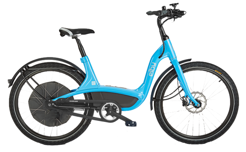 Elby E-Bike S-Speed BLU