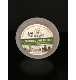 Raw Performance Raw Performance - Chicken & Lamb Blend - 1LB