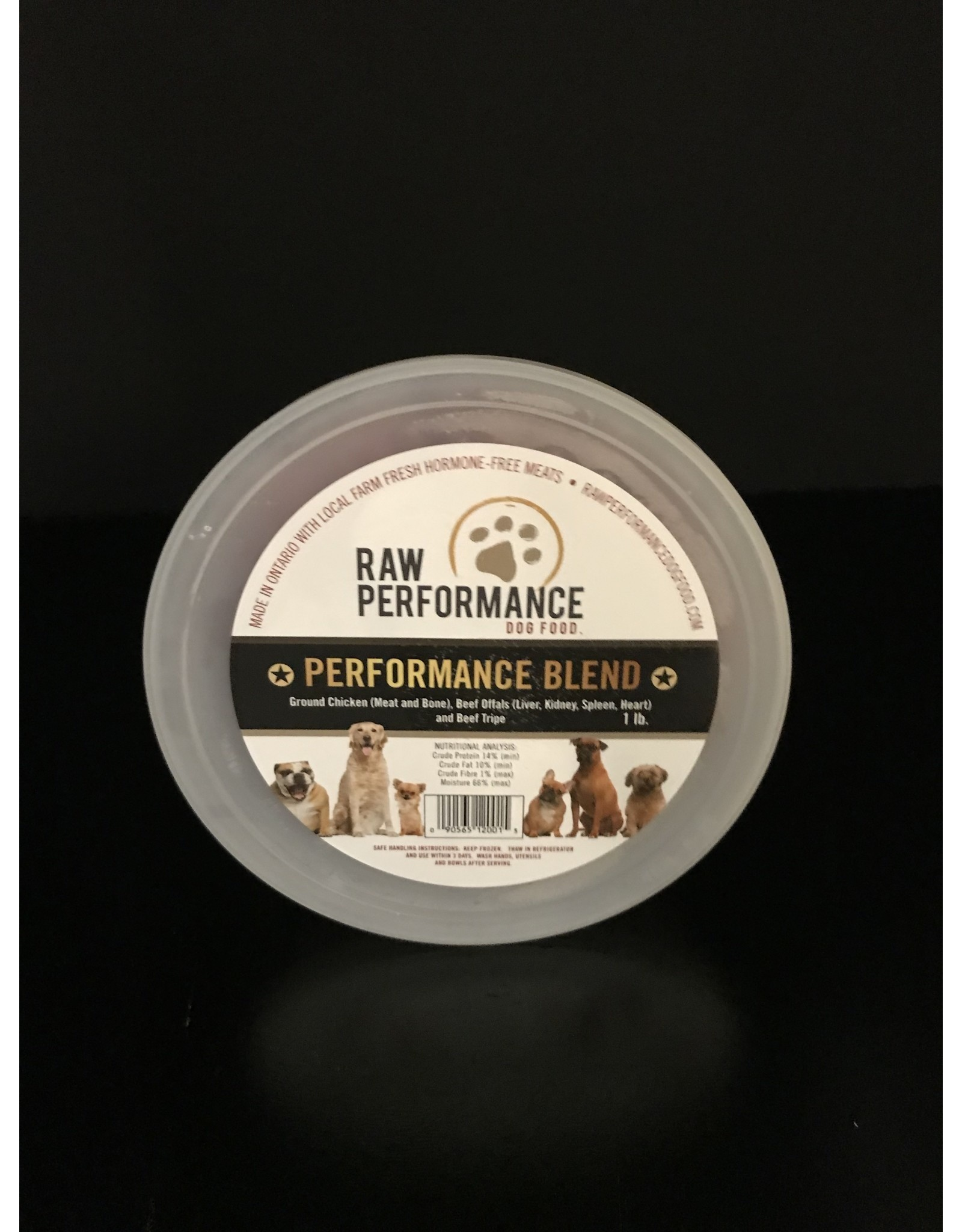 Raw Performance Raw Performance - Performance Blend - 1LB