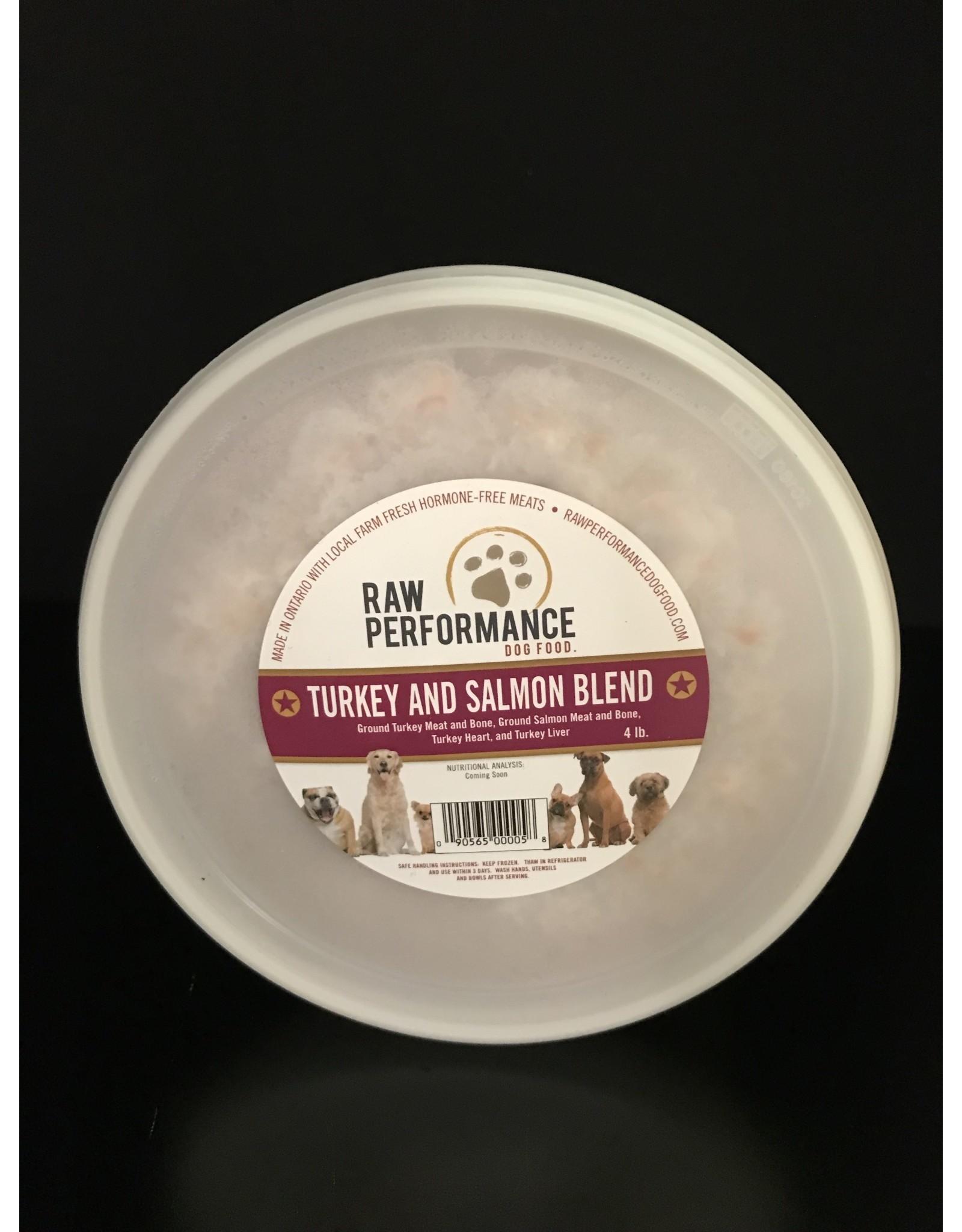 Raw Performance Raw Performance - Turkey & Salmon Blend - 4LB
