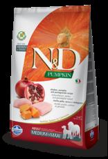 Farmina Farmina - N&D - Adult - MED/MAXI - Chicken/Pomegranate 26.4LB