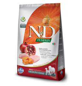 Farmina Farmina - N&D - Adult - MED/MAXI - Chicken/Pomegranate 26.4LB