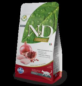 Farmina Farmina - N&D - Adult Cat - Chicken/Pomegranate 11LB