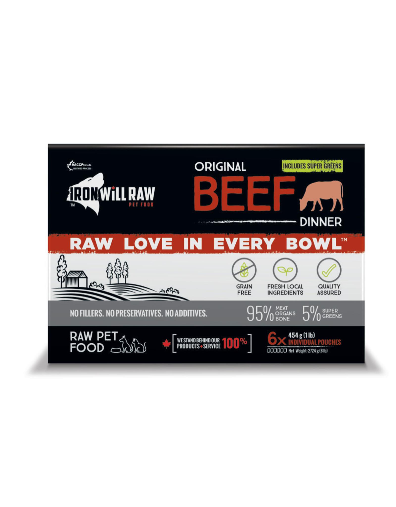 Iron Will Raw Iron Will Raw - Original Beef 6LB