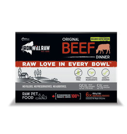 Iron Will Raw Iron Will Raw - Original Beef 6LB