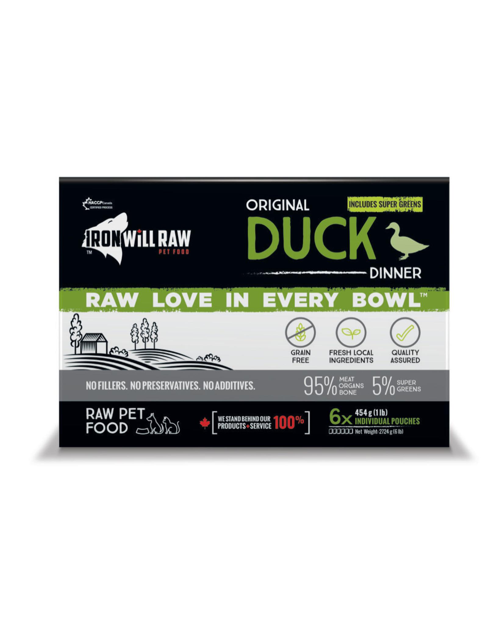 Iron Will Raw Iron Will Raw - Original Duck 6LB