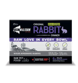 Iron Will Raw Iron Will Raw - Original Rabbit 6LB