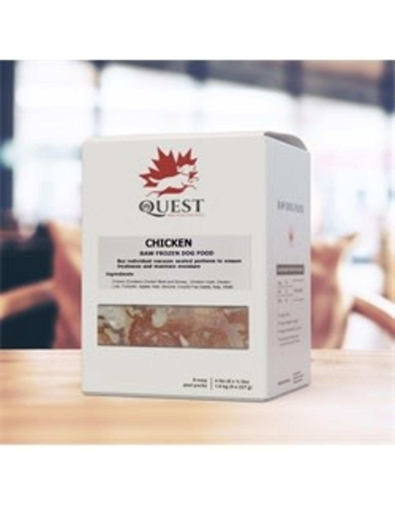 Quest Quest - 4LB  8 X 8oz Portion (Chicken)