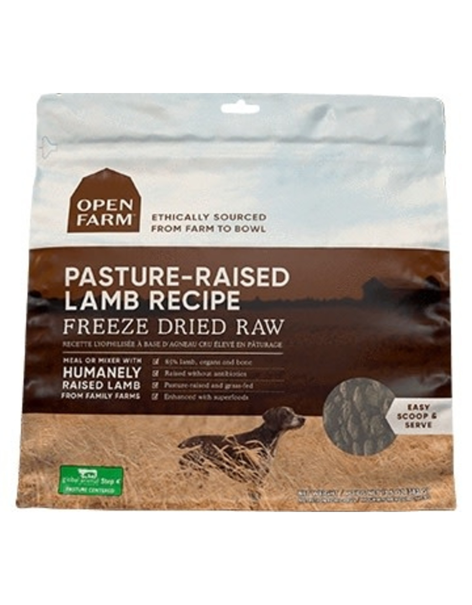 Open Farm Open Farm Freeze Dried - Lamb 13.5oz