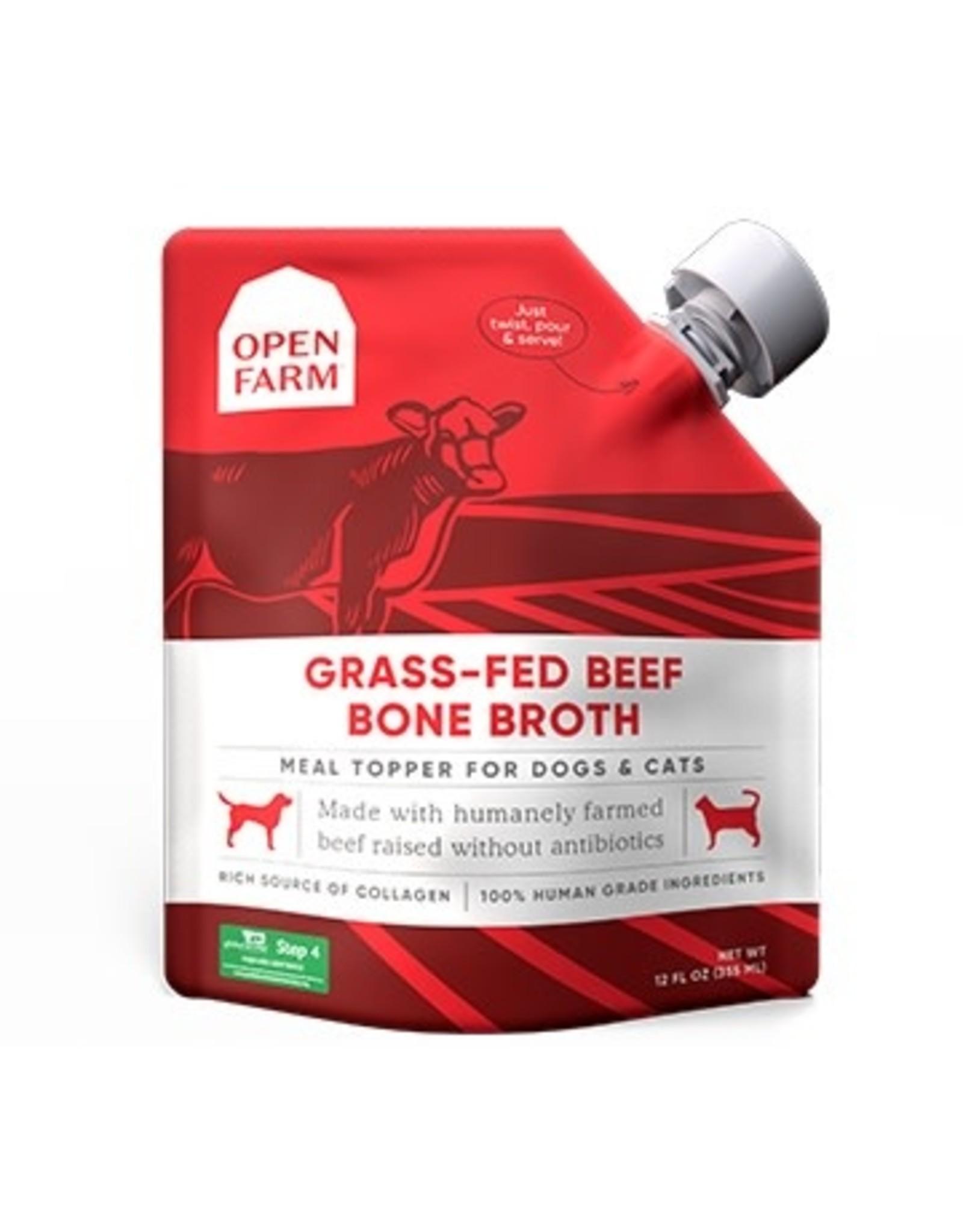 Open Farm Open Farm - Bone Broth - Beef 12oz