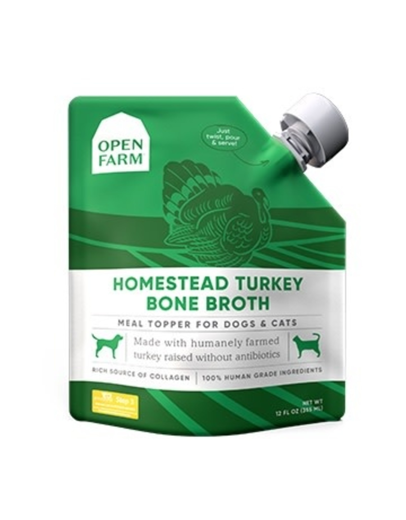 Open Farm Open Farm - Bone Broth - Turkey 12oz