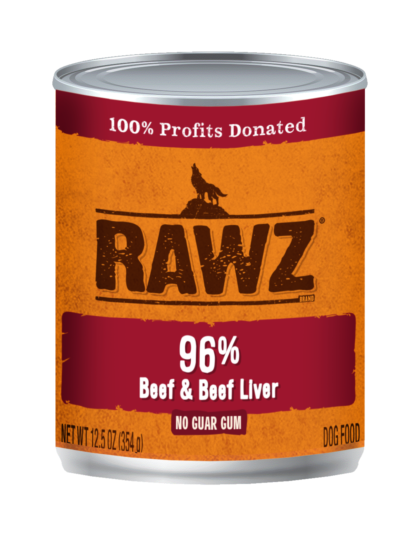 Rawz Rawz - 12.5oz Can - Beef and Beef Liver