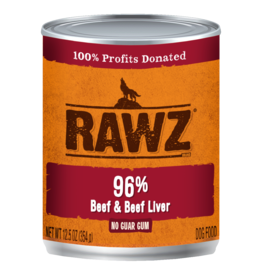 Rawz Rawz - 12.5oz Can - Beef and Beef Liver