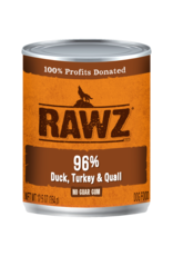 Rawz Rawz - 12.5oz Can - Duck/Turkey/Quail