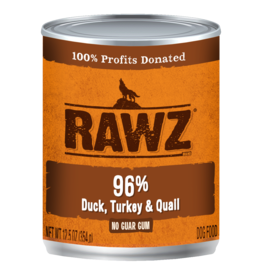 Rawz Rawz - 12.5oz Can - Duck/Turkey/Quail