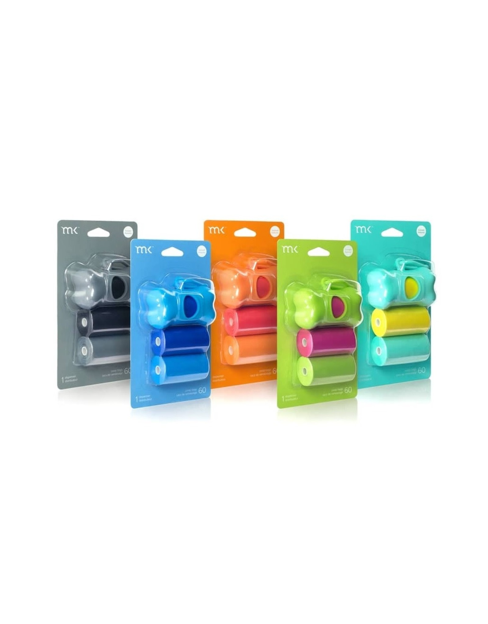 Modern Pet Brands MK - Dispenser (Turquoise and Yellow)