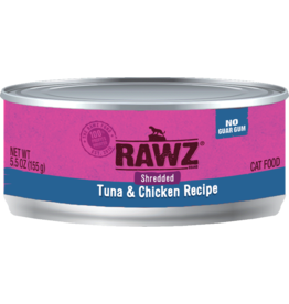 Rawz Rawz - Cat - 5.5oz Can - Tuna & Chicken - Shredded
