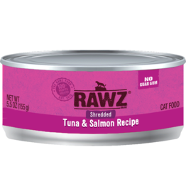 Rawz Rawz - Cat - 5.5oz Can - Tuna & Salmon - Shredded