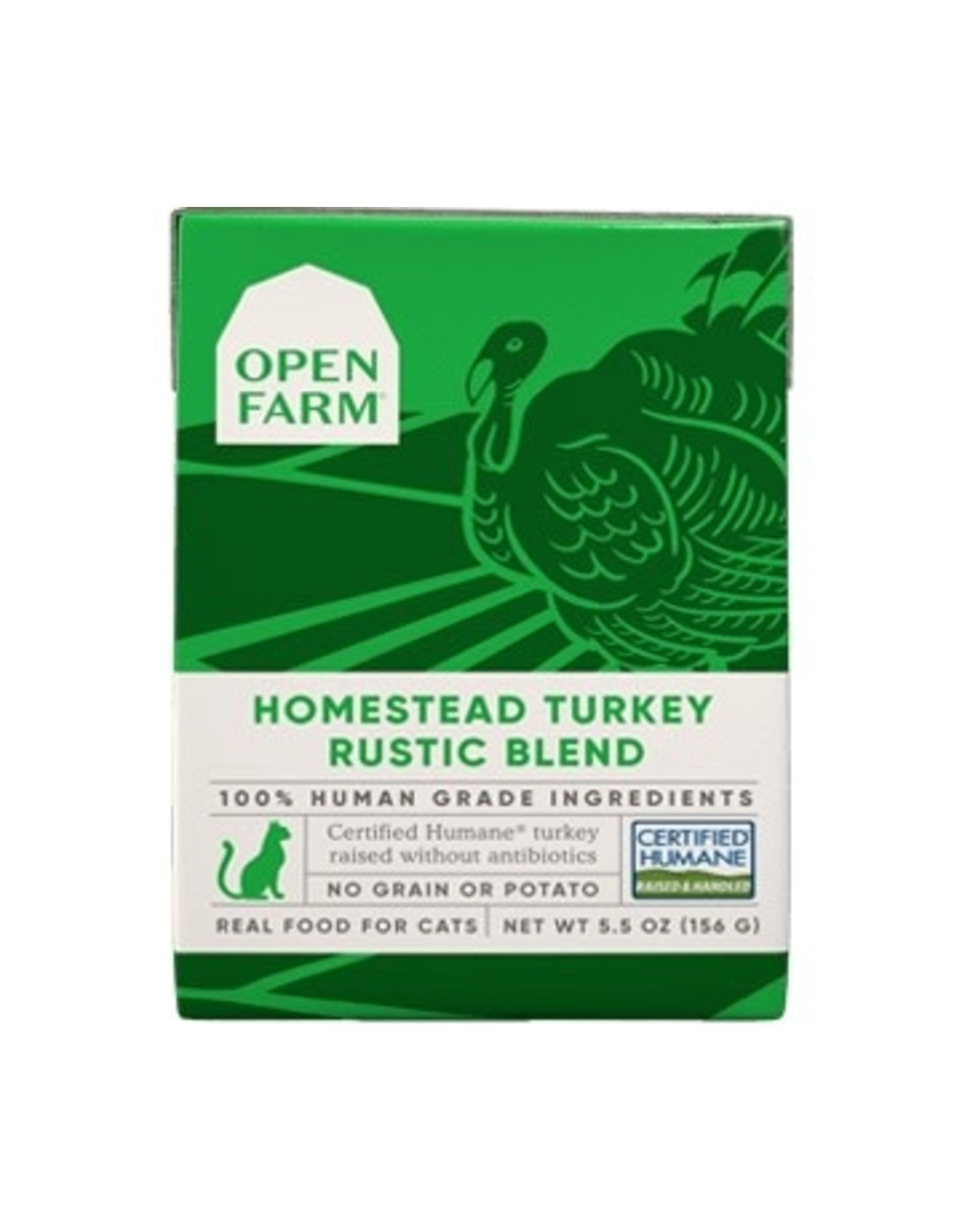 Open Farm Open Farm - CAT - CAN - Turkey Rustic Blend - 5.5oz