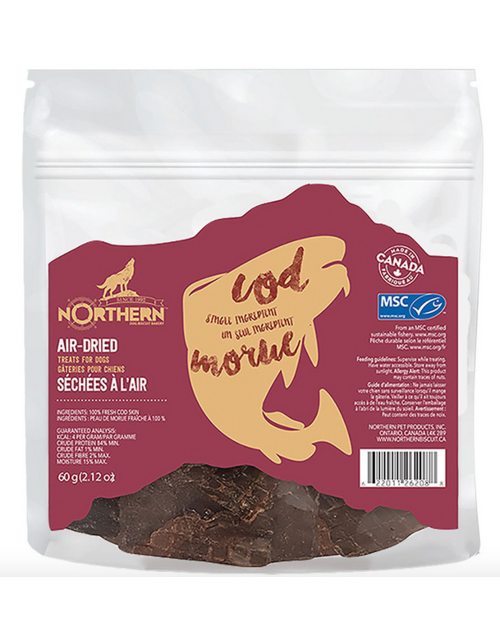 Northern Pet Products Northern - Air Dried - Cod
