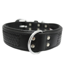 "Angel Angel -Santa Fe Collar - 16""x3/4 blk"