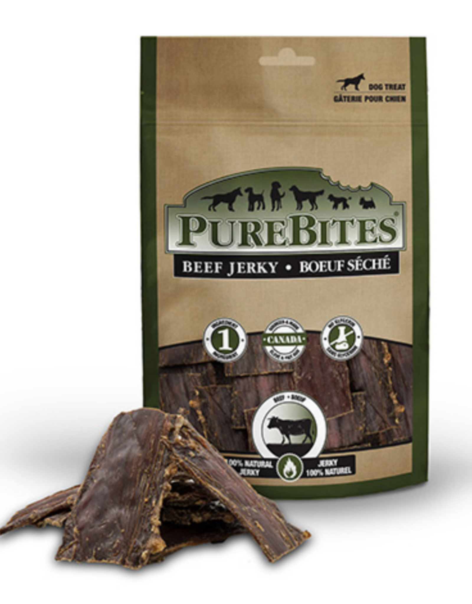 PureBites PureBites - Beef Jerky - 7.5oz