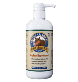 Grizzly Pet Products Grizzly Salmon Oil - 16oz