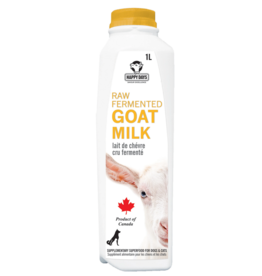 Happy Days Happy Days - Raw Fermented Goat Milk 1L